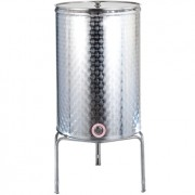 100 litres Flat bottom welded Fermenter barrel wrought finished